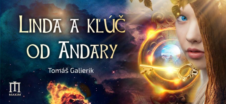Vychádza slovenské dobrodružné fantasy Linda a kľúč od Andary